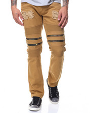 Jeans & Pants - Motto Twill Zippers Jeans