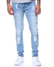 Copper Rivet - Old Vintage Ripped Jeans