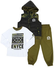 Sets - 3 Piece Jogger Set (4-7)