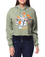 Hoodies - Looney Tunes Space Jam Cropped Hoodie
