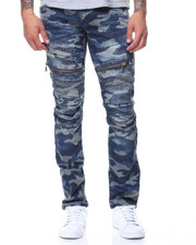 Buyers Picks - Camo Motto Jeans Zipper Pocket