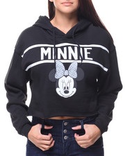 Graphix Gallery - Minnie Cropped Hoodie