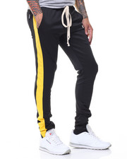 Buyers Picks - Poly Tricot Pant w Stripe Detail