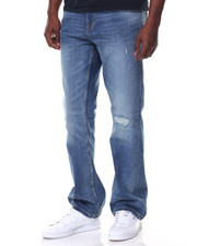Men - Stretch Bronx Bootcut Jean