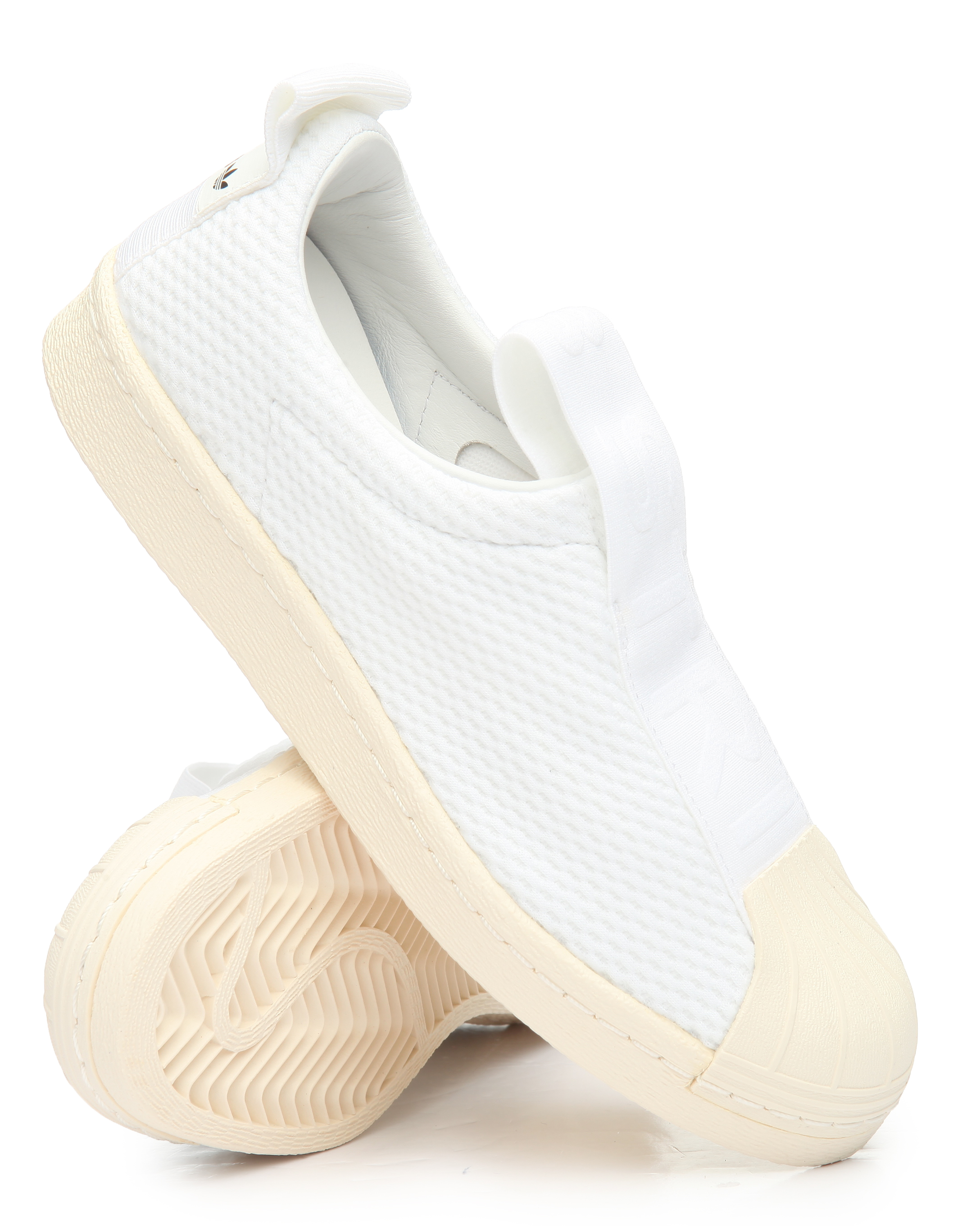 Adidas Superstar Slip On Womens Shoes (Off White)