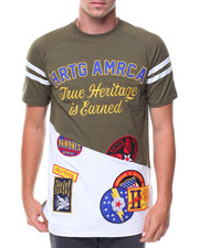 Heritage America - S/S Patches Tee