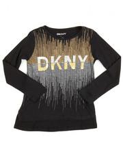 DKNY Jeans - DKNY 1989 Glitter Tee (4-6X)