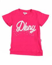 Sizes 7-20 - Big Kids - DKNY Studded Tee (7-16)
