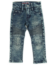 Sizes 2T-4T - Toddler - Stretch Moto Jean (2T-4T)