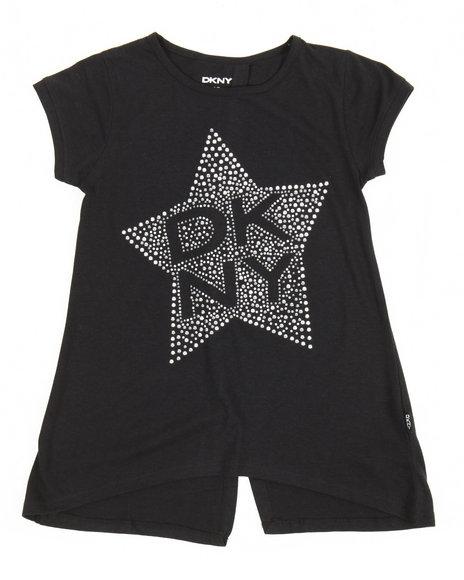 DKNY Jeans - Tribeca Studded Tee (7-16)