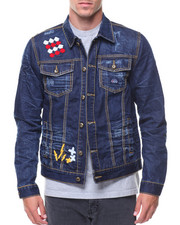Denim Jackets - Elio Denim Jacket