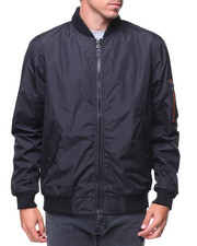 Light Jackets - Defend Lightweight Jacket With Zippers On Sleeve