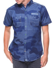 Buyers Picks - S/S Denim Camo Woven Shirt