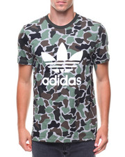 Shirts - CAMO TREFOIL S/S TEE