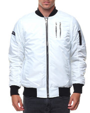 Outerwear - Zippers Basic Bomber Jacket