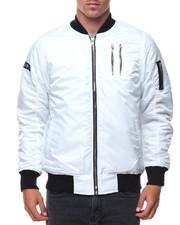 Men - Zippers Basic Bomber Jacket