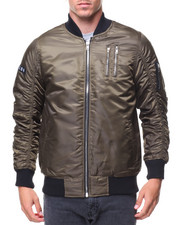 The Classic Bomber Jacket - Zippers Basic Bomber Jacket