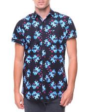 Shirts - S/S Blossom Koi Woven Shirt