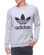 Pullover Sweatshirts - TREFOIL CREWNECK SWEATSHIRT