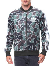 Outerwear - CAMO SUPERSTAR TRACK JACKET