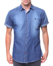 Buyers Picks - S/S Denim Polka Dot Woven Shirt