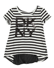 Sizes 2T-4T - Toddler - Pleated Back Top (2T-4T)