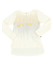 Sizes 2T-4T - Toddler - DKNY 1989 Glitter Tee (2T-4T)