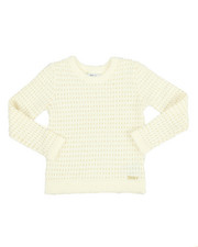 Sizes 7-20 - Big Kids - Eyelash Lurex Sweater (7-16)