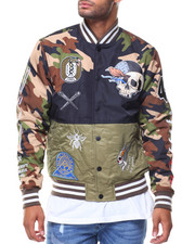 Men - Pieced Camo Jacket