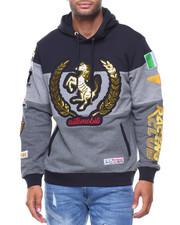 Men - 3 Tone Gold Foil Rally Hoody