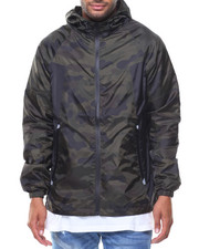 Men - Windbreaker Full Zip Jacket