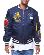 Men - MA1 Champs Nylon Bomber Jacket (Cartoon Patch)