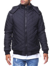 Men - Quilted Bubble Jckt