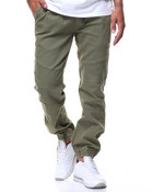 Stretch Moto Stitched Knee Jogger Pant