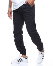 Men - Stretch Moto Stitched Knee Jogger Pant