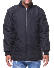 Men - Aviator MA1 Long Flight Jacket