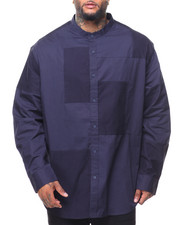 Button-downs - L/S Patchwork Woven (B&T)