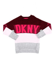 Sizes 7-20 - Big Kids - Logo Multi Stripe Sweater (7-16)