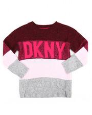 DKNY Jeans - Logo Multi Stripe Sweater (4-6X)