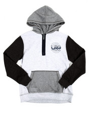 LRG - All Night Half Zip Hoodie (8-20)