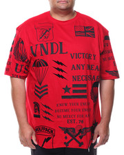 Men - S/S American Vndls  Crew-neck Tee (B&T)