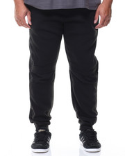 Sweatpants - Biker Fleece Jogger Pants (B&T)