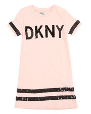 Sizes 7-20 - Big Kids - DKNY T-Shirt Dress (7-16)