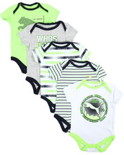 Puma - 5 Pack Bodysuit Set (Infant)