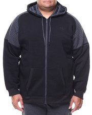 Men - L/S Allen Moto Fleece Hoodie (B&T)