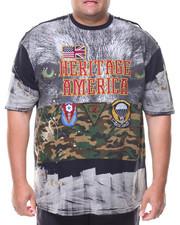 Men - S/S Heritage America Crew Neck Tee (B&T)