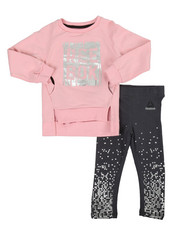 Reebok - Live Fast Get Fit 2 Piece Set (2T-4T)
