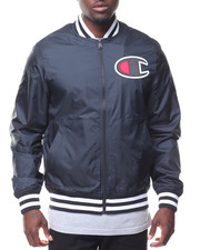 "Champion - ""C"" Logo Satin Baseball Jckt"