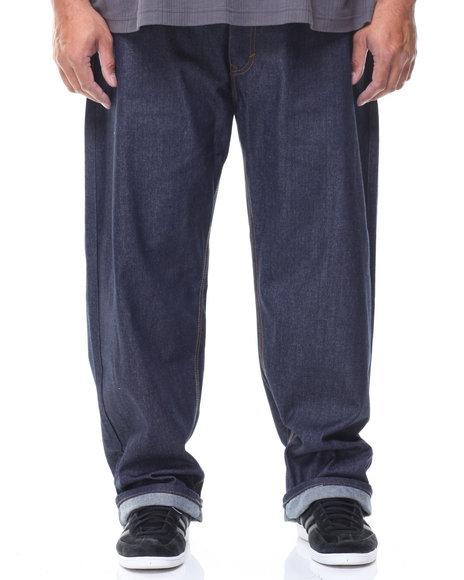 Akademiks - Split Raw Denim Jeans (B&T)