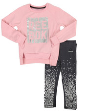 Girls - Live Fast Get Fit 2 Piece Set (4-6X)